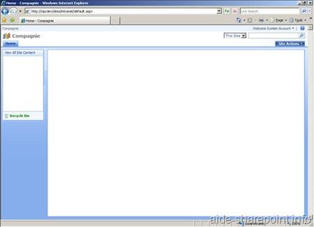 Gabarit Papier pour Interface SharePoint